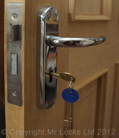Mr Locks BS3261 Mortice Sashlock